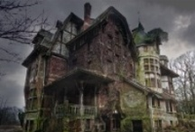 Spooky looking Houses  / Spooky or Haunted houses I love from all over the world!