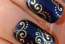 "|Nails: Inspiration| / ""I don't like plain nails. I get sad."" -Zooey Deschanel / by Alison Barger"