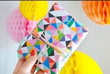 Gift Wrapping / Gift wrapping ideas and inspiration.
