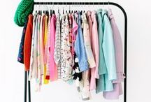 Dream Closet / Storage and display ideas for the wardrobe and dressing table.