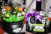 Wicked Cute Halloween / Wicked Cute Halloween Party Ideas for kids Halloween Parties!  Including Halloween party supplies and decorations.