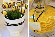 Bumble Bee Party Ideas / Bumble bee party ideas for a sweet celebration!  Ideal for a first birthday, a baby shower or a girl birthday party!