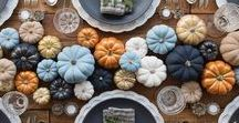 Fall Entertaining / Fall Entertaining ideas for Thanksgiving!  Gorgeous Fall decor and fall recipes for the Holidays!