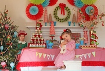 Magic Elf Christmas Party / Magic elf christmas party ideas for a magical holiday celebration.  Fun magic elf dessert table and inspiration!