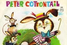 Peter Cotton Tail  / ALL THINGS EASTER..CRAFTS,BUNNIES,RECIPES,DECORATION IDEAS ETC!
