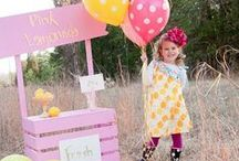 Pink Lemonade Party Ideas / Pink Lemonade Party ideas for the perfect summer party!  Ideal for kids lemonade stands and lemonade party!