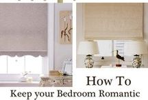 Bedrooms / A good nights sleep is essential for your well-being so careful planning of your window coverings, bedroom décor and choice of furniture as well as where it is placed may well make all the difference.