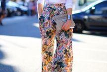 She wears the trousers / Women's trousers, pants