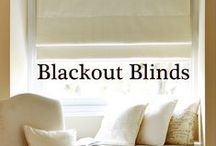 Blackout Blinds / Blackout blinds are one of the most popular styles of blind. They can be used on their own, being as discreet or as loud as you like, or be used as part of a layered window treatment. These blackout blinds will also help you to achieve a good night's sleep by not being disturbed by early morning daylight.