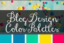 CA Blog Design Color Palettes