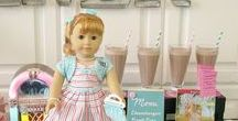 American Girl Party Ideas / Everything you'll need to throw a fabulous American Girl Party from decorations to Party supplies!