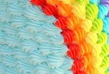 Rainbow and Unicorn Party Ideas / All the magical party ideas for a Rainbow and Unicorn Party!  from Unicorn headbands, Rainbow Balloons, cake toppers, rainbow cups and much more!! Lots of Unicorn Decorations and Rainbow Party Supplies!