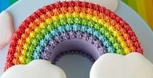 Rainbow Party Ideas / Rainbow Party Ideas for a fun colorful Party from Party decor, Party goods and inspiration!  Lots of rainbow Balloons and rainbow tableware and decorations!