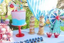 Carnival Party Ideas / Fun Party ideas for the best Carnival Party in town!!  Circus Party games, carnival dessert table and party ideas!