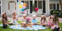 Picnic Ideas for Kids / Ideas for celebrating a picnic for the kids including setting the picnic, what to serve and what party supplies to use.  Lot's of picnic ideas and fun Cruiser Food boxes for the kids
