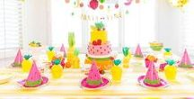 Top Party Ideas / Top Party Ideas from your favorite Party Bloggers!  All the party inspiration in one place including birthday party ideas for kids, adult party ideas, baby showers, bridal showers, dessert recipes, fun cocktails and party DIYs.  * Only Party related Pins please
