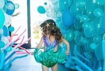 Mermaid Party Ideas / Fabulous Mermaid Party Ideas for fun Pool Parties and Summer Parties!  If you are planning a little mermaid party, we have all the mermaid decorations and party supplies you will need.