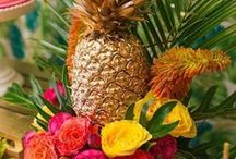 Tropical Party Ideas / Tropical Party Ideas for a fabulous Summer Party!  Tropical Party Decorations for a girl Birthday Party, a Tropical Bridal Shower or a Baby shower!