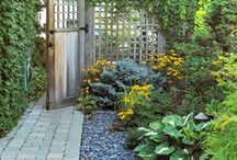 Blessed home and garden / by Gabriela