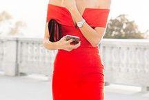 Wear something RED
