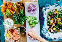 feasting my eyes on food!