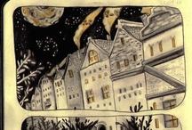 Illustrations, illuminations, printmaking and ephemera / by Barbara Weitbrecht