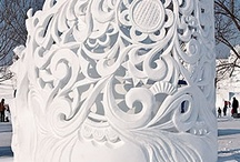 Ice and Snow Sculptures / by Janet Trautman