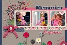 Scrappin' / scrapbook layouts and ideas / by Connie Huntington