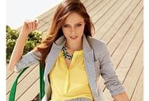 Spring 2013 Trends / Bold, bright colors mix with neutrals for a classic American look with fun, flirty edge / by Westfield Style