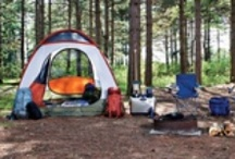 Camping and travel / by Rebecca Bremer