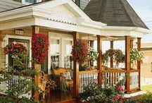 sitting on the porch / working on curb appeal / by Claire Schillinger-Rubemeyer