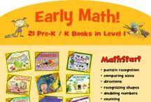 MathStart / Pre-K  & Kindergarten / By Skill / The awarding-winning MathStart books by Stuart J. Murphy teach mathematical concepts to young children through stories and visual learning strategies