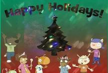 Holidays / Stuart J. Murphy books / Holidays, I See I Learn and MathStart books