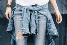 Denim. / #Womens #Denim #Jeans #Flare #Skinny #Crop #Ankle #AG #Joes #Paige #Hudson #Citizens  / by jb and me
