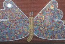 community school mosaics inspiration / by Karen Bowers