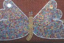 community school mosaics inspiration