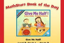 Level 2:  MathStart Book of the Day! / MathStart books by Stuart J. Murphy for Kindergarten through Grade 2