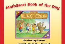 Level 3:  MathStart Book of the Day! / MathStart books by Stuart J. Murphy for Grade 2 - Grade 4