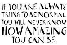 Words / by Amanda Weisbrod