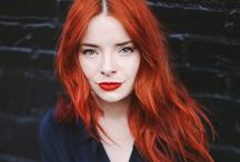 Fiery Reds / Redheads from subtle to fiery