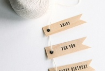 Gift packing  / by Maite Montecatine - N30 Atelier