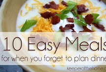 Good Eats - meals and meal planning