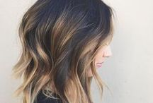 Balayage / Call it Balayage, ombre or dip dyed, this board is dedicated to the two-toned trend