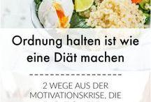 Ordnungsliebe Inspiration & Motivtion