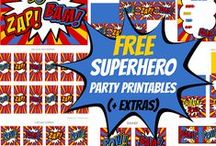 Free Party Printables / Create an awesome party theme right from your computer! / by Debbe Rieth