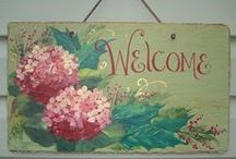 Crafts ✿#ColettesCottage / cute cottage type crafts ✿#ColettesCottage