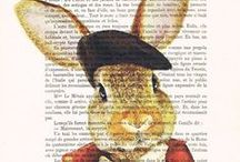 Bunny Rabbit Art ✿~ Colette's Cottage / ALL things bunnies, art, crafts, paintings, garden accessories, etc. I LOVE bunnies....enjoy!  see my other bunnies- animals board too! :)