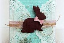 Cards - Bunnies n Easter / Cute cards with bunnies and for Easter