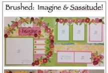 CTMH ♥ Scrapbooking / Scrapbooking inspiration from Close to my heart!   http://colettescottage.shopctmh.co.nz/ check it out for great inspiration and kits!