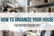 Organizing / by Anna Strach